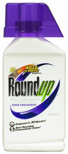 Roundup 5100710 Weed & Grass Killer, 35.2-Ounce Super Concentrate