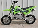 DB49A GREEN 49CC 50CC 2-STROKE GAS MOTOR MINI DIRT PIT BIKE