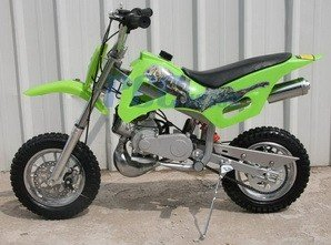 49cc 50cc Green 2-Stroke Gas Motorized Mini Dirt Pit Bike (Cheap Mini Dirt Bikes compare prices)