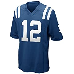 Luck Jersey Indianapolis Colts Andrew Luck Color Blue Elite Mens Jerseys (40(M))