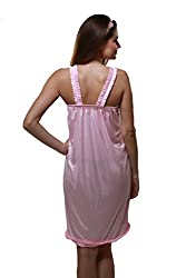 Port attractive new sleepwear for women of free size (pink)