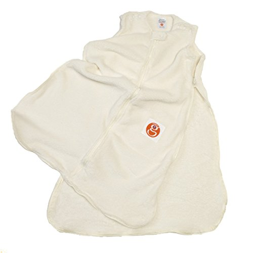 Gunamuna Fleece Gunapod Wearable Baby Sleepsack, Cocoon, Medium