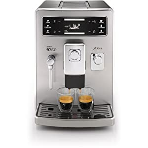 philips saeco xelsis stainless steel expresso machine hd8944 47 home kitchen. Black Bedroom Furniture Sets. Home Design Ideas