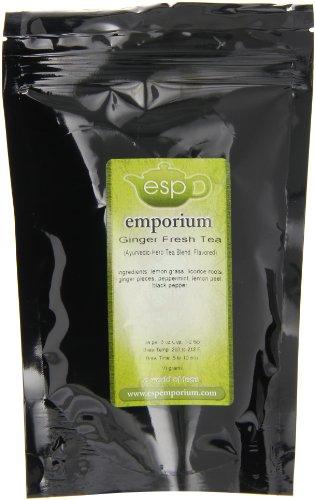 Esp Emporium Ayurvedic Herb Tea Blend, Ginger Fresh, 1.76 Ounce