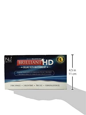 Advanced Teeth Whitening Strips - Professional Strength Whitestrips 14 Day Supply by White 360