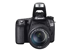 Canon EOS 70D Camera - Black (20.2MP, 18-135mm IS STM Lens) 3.0 inch LCD