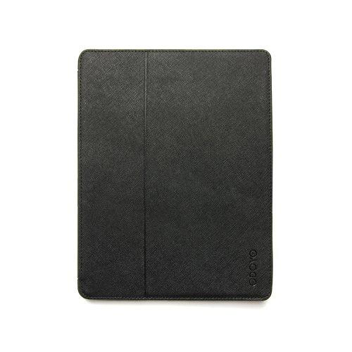 Smart Case Odoyo Generations AirCoat Kunstleder schwarz für Apple iPad 2 Gen. - A1395 / iPad 2 Gen. - A1396 / iPad 2 Gen. - A1397 / iPad 3 Gen. - A1416 / iPad 4 Gen. (Retina) - A1458 / iPad 3 Gen. - A1430 / iPad 3 Gen. - A1403 / iPad 4 Gen. (Retina) - A1459 / iPad 4 Gen. (Retina) - A1460 Tasche Case Hülle Etui Schutzhülle