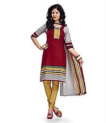 Kesar Sarees Womens Cotton Dress Material (Kessa1007 _Multi-Coloured _Free Size)