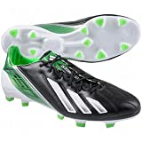 F50 adiZero TRX FG - Leather - (Black White Green Zest) by adidas