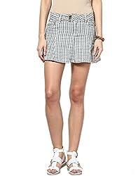 Upperclass Women's Skirt (8903862956961_Grey_26)