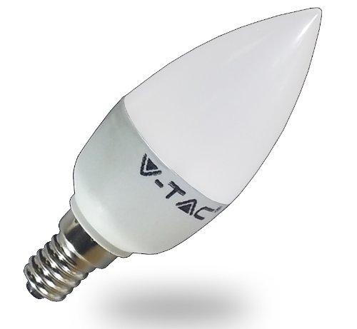 6Watt Led Lampe E14 Kerze Kaltweiß Led Leuchtmittel Ersetzt 40W Glühlampe 470Lm 6000K