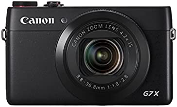 Canon PowerShot G7X Digital Camera (20.3 MP, 4.2x Zoom)