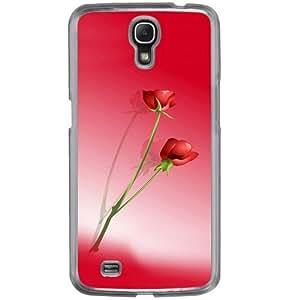 Casotec Red Roses Design 2D Hard Back Case Cover for Samsung Galaxy Mega 6.3 I9200