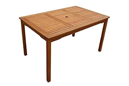 indoba IND-70023-LOTI Lotus Table de jardin en bois de keruing