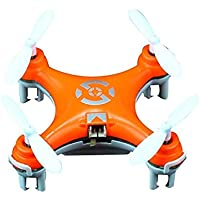 Cheerson CX-10 Mini 2.4GHz 4-Ch 6-Axis Gyro LED RC Quadcopter (Orange or Pink)