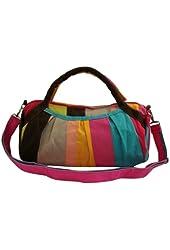 Vonfon Bag Work Place Color Canvas Bag Red