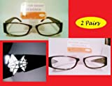 2 Pairs Foster Grant Designer Butterfly Reading Glasses - Vivenne (1.75 strength)