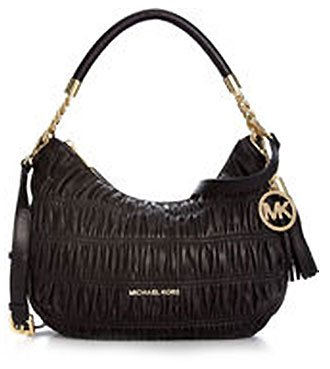 MICHAEL Michael Kors Webster Medium Convertible Shoulder Bag Shoulder Handbags - Black