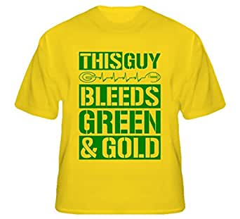 South Beach Men 39 S This Guy Bleeds Green And