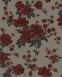 SuperFresco Easy Kensington Wallpaper - Red and T by New A-Brend