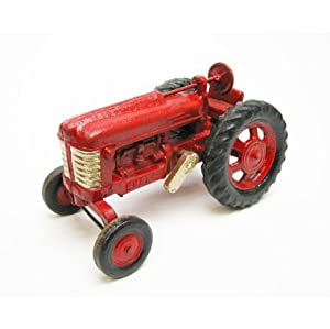 Big Red Replica Cast Iron Collectible Farm Toy Vintage Tractor by EttansPalace