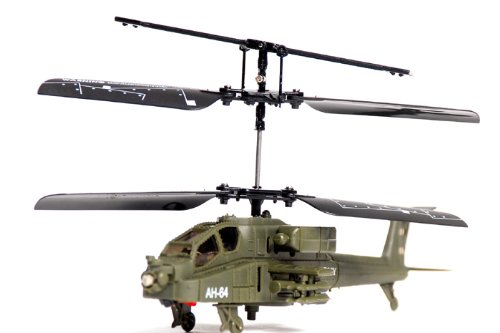 Deals Army AH-64 Apache Mini RC Helicopter