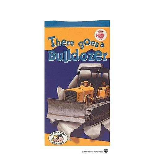 Amazon.com: There Goes a Bulldozer [VHS]: Real Wheels
