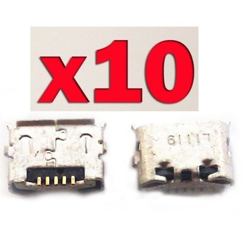 Epartsolution- Lot Of 10 Htc Evo 4G Pc36100 Charging Port Dock Connector Usb Port Repair Part Usa Seller front-487056