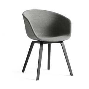 Hay about a chair 23 armlehnstuhl gepolstert grau stoff - Ambientedirect bewertung ...