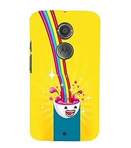 EPICCASE Brainy shake Mobile Back Case Cover For Moto X 2nd Gen (Designer Case)