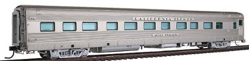 Broadway Limited HO Scale California Zephyr Sleeper Car WP #852 Silver Swallow BLI-1526