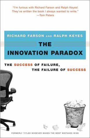 Image for The Innovation Paradox : The Success of Failure, the Failure of Success