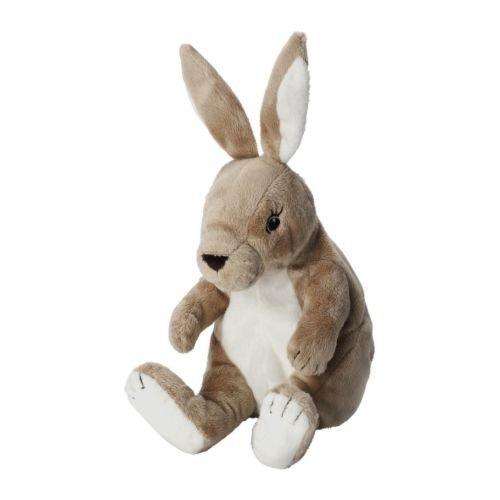 Ikea Gosig Kanin Soft Toy - Beige