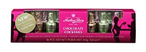 Anthon Berg Chocolate Cocktails Tunnel Box, Sixteen Pieces, 8.8 Ounce