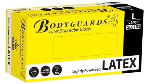 polyco-bodyguards4-powdered-disposable-latex-gloves-large-ref-gl8183-pack-100