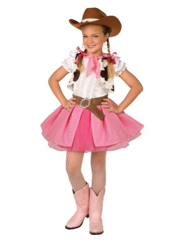 Kids-Costume Cowgirl Cutie Kids Costume Lrge 12-14 Halloween Costume