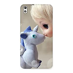 Cute Lovely Cute Baby Girl Multicolor Back Case Cover for HTC Desire 816s