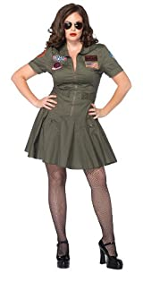 Top Gun Plus Size Costume by Leg Avenue