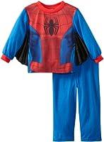 Spider-Man Little Boys' Uniform Two-Piece Sleep Set