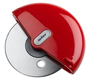 Zyliss Palm-Held Pizza Slicer, Red