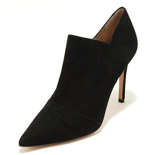 2823G tronchetto donna nero PURA LOPEZ scarpa shoes women [40]