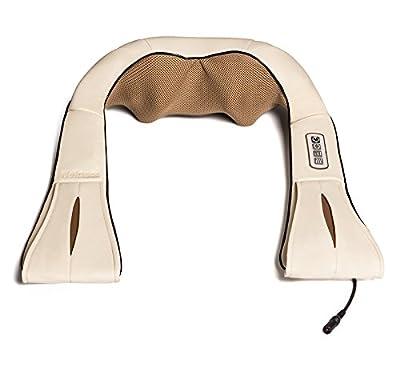 Nekteck Shiatsu Deep Kneading Massager Pillow with Heat / Foot Neck Shoulder and Back Massage Pillow