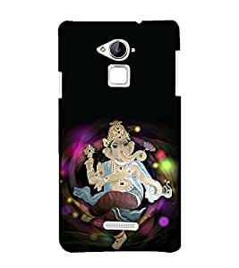printtech Lord God Ganesha Back Case Cover for Coolpad Note 3 Lite Dual SIM with dual-SIM card slots