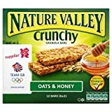 Nature Valley Crunchy Granola Bars Oats & Honey 6 X 42G