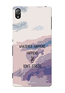 Sowing Happiness Printed Back Cover For Sony Xperia Z3
