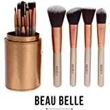 Beau Belle Makeup Brushes - 12pcs Make Up Brush Set - Makeup Brush Holder - Professional Makeup Brushes - Make...