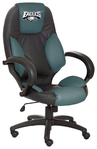 NFL Philadelphia Eagles Leather Office Chair at Amazon.com