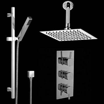 hudson reed ensemble ensemble complet design mitigeur de douche thermostatique. Black Bedroom Furniture Sets. Home Design Ideas