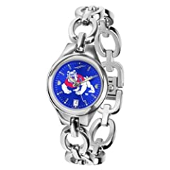 Fresno State Bulldogs Ladies Watch Chain Bracelet Watch by SunTime