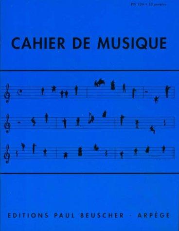 Partition : Cahier de musique pb 120